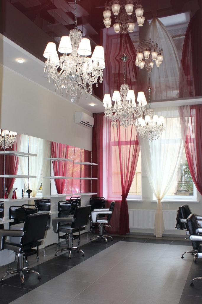 парикмахерский зал салон красоты New Style Ирпень